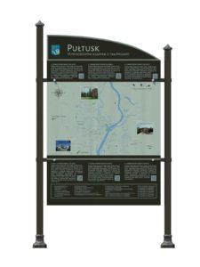 Tablice informacyjne w Pułtusku