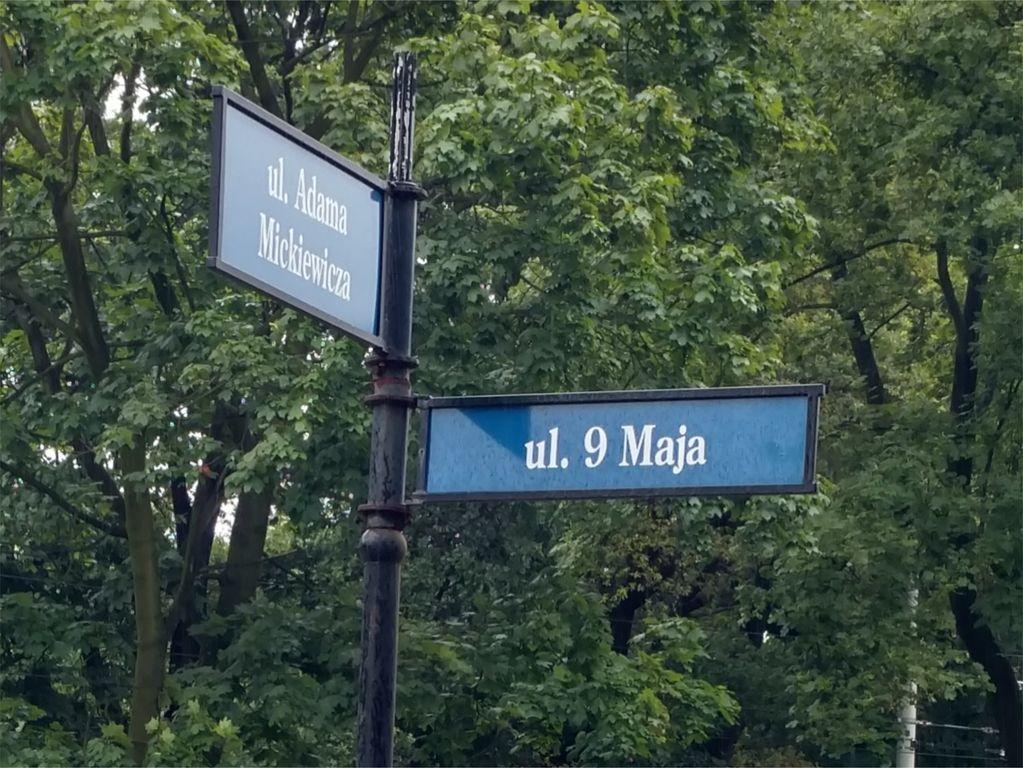 Zmiany nazw ulic - Wrocław ulica 9 Maja