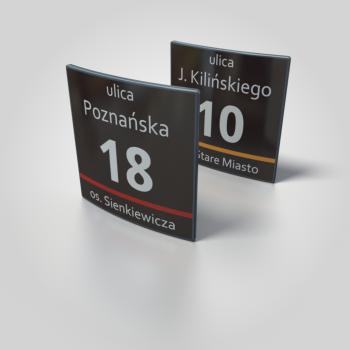 tabliczka na dom MSI Ostrołęka