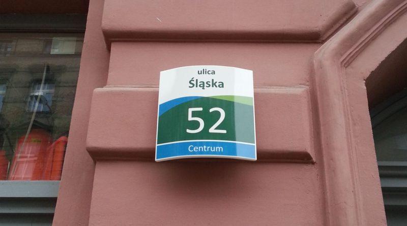 szczecińska tabliczka na dom
