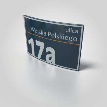 tabliczka adresowa SIM Tychy