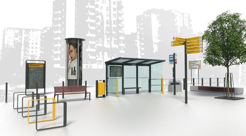 Program Estetyzacji Miasta Kędzierzyn-Koźle strefa Nowomiejska_meble miejskie w obszarach reprezentacyjnych